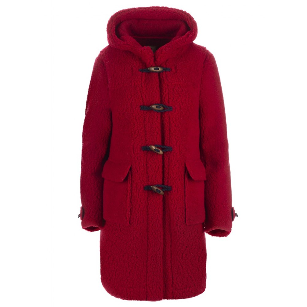 Пальто REDALL с капюшоном