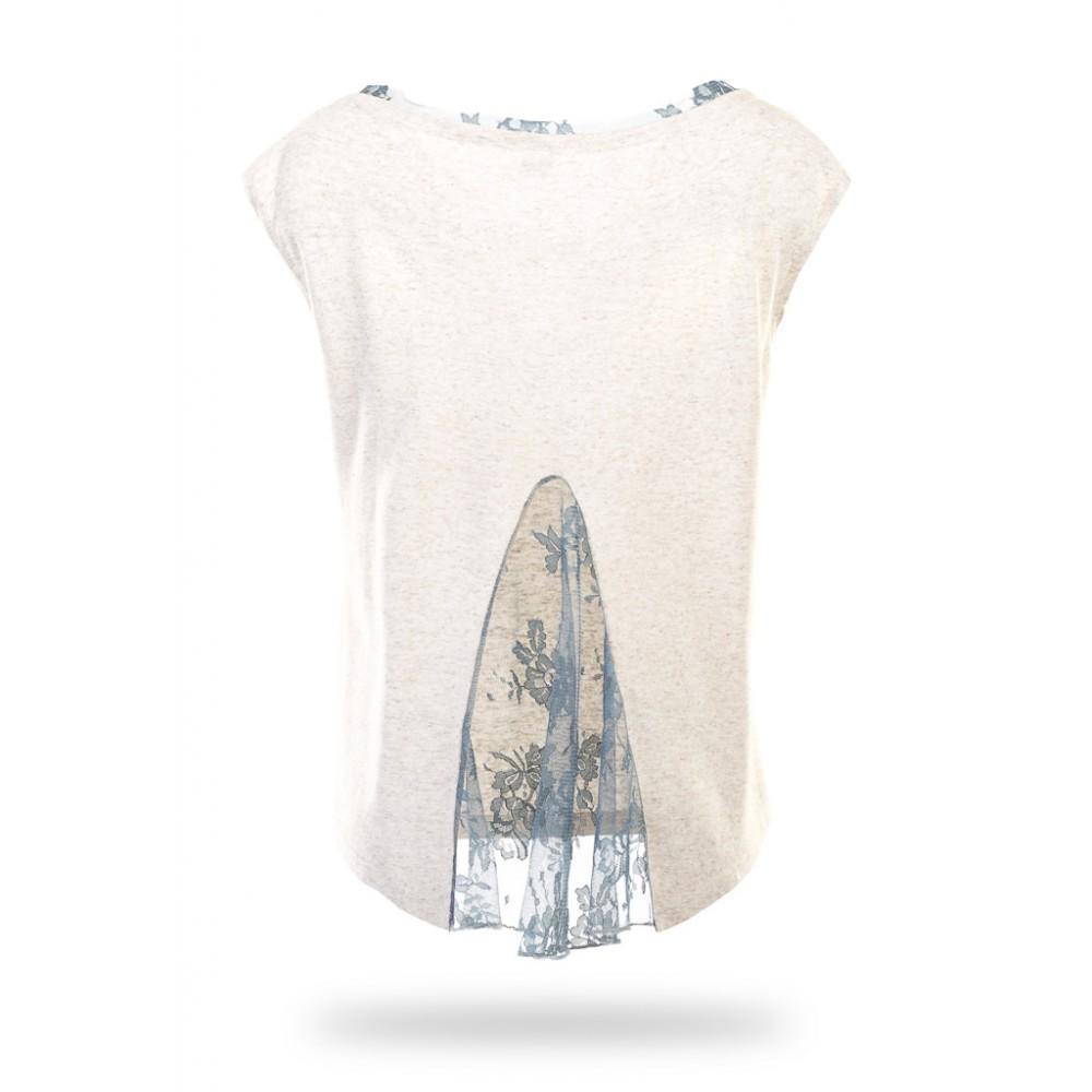 Блузка женская льняная GODET