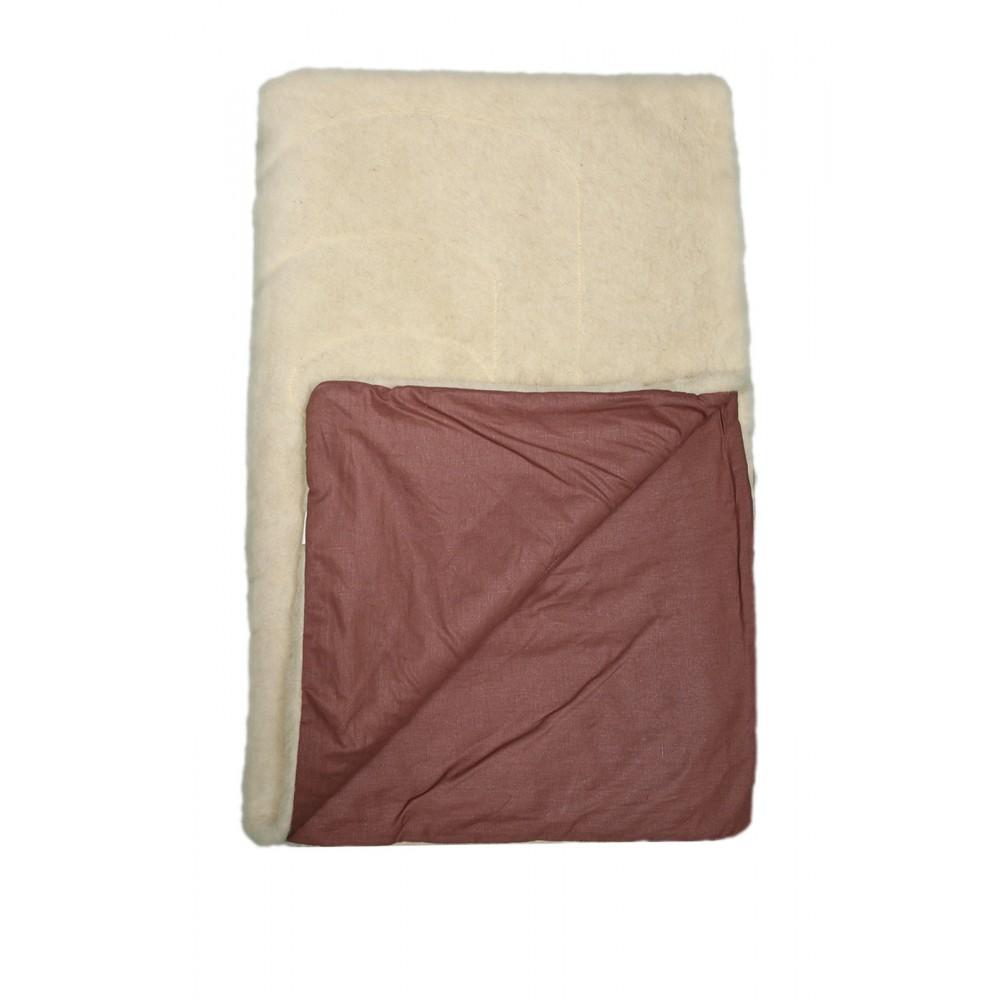 Одеяло шерсть/лен